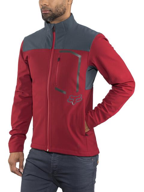 Fox Attack Fire Jacket Men cardinal